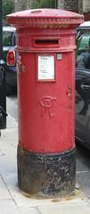 VR Post Box, Gospel Oak (piktaker) Tags: london londonnw3 gospeloak postbox letterbox royalmail post vr victoria
