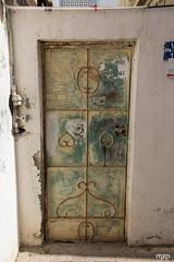 Door in Mutrah (mzagerp) Tags: eau aue emirats arabes unis united arab emirates oman mascat mascate abu dhabi dubai bani awf wadi khalid shab mosquee mosque muslim louvre muscat masqat