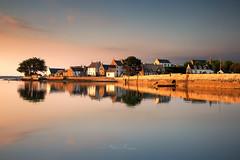 Saint-Cado (Stéphane Sélo Photographies) Tags: france paysage pentax pentaxk3ii blending bretagne couchant coucherdesoleil eau landscape morbihan riadétel saintcado sigma1020f45 sunset water