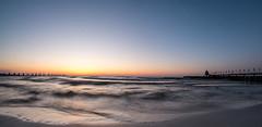 Ostsee Strand 1 (muman71) Tags: dscf6690 ostsee balticsea dars 2018 sonnenuntergang xe1 fisheye samyang 8mm f16 12sec fuji zingst