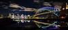 Kirribilli puddle    Sydney (David Marriott - Sydney) Tags: kirribilli newsouthwales australia au wide angle long exposure sydney nsw reflection harbour bridge opera house circular quay vivid 2018