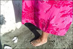 (Flower Power) (Robbie McIntosh) Tags: leicam9p leica m9p rangefinder streetphotography 35mm leicam autaut candid strangers leicaelmarit28mmf28iii elmarit28mmf28iii elmarit 28mm seaside man tan naked sand mappatellabeach lidomappatella belly fat queen bra oil bikini woman foot feet summer summertime