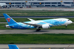 China Southern Airlines   Boeing 787-8   B-2736   Shanghai Hongqiao (Dennis HKG) Tags: aircraft airplane airport plane planespotting skyteam canon 7d 100400 shanghai hongqiao zsss sha chinasouthern chinasouthernairlines csn cz boeing 787 7878 boeing787 boeing7878 dreamliner b2736