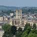 Bath Abbey from Bathwick Meadow