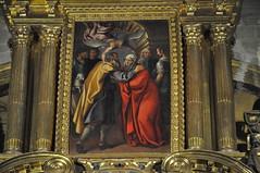 Astorga (León-España). Catedral. Capilla de la Inmaculada. Retablo de 1627 obra de Francisco Ruiz. Detalle (santi abella) Tags: astorga león castillayleón españa catedraldeastorga retablos