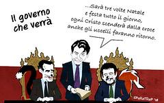 Conte le canta a tutto il senato per raccontare a tutti il governo che verrà (satira-italia) Tags: conte satira sparatrap riera
