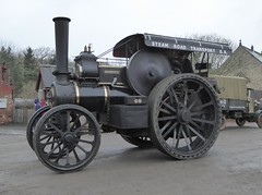"""Fowler Road Locomotive 8726 """"Major Scholfield RE"""" (Terry Pinnegar Photography) Tags: beamish museum countydurham steam traction engine vintage roadlocomotive fowler 8726 bs8535 majorscholfieldre b5"""