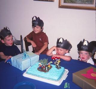 Branden's Fifth Birthday