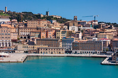 IMG_4517-1 (Andre56154) Tags: schiff ship fähe ferry wasser water himmel sky meer ozean ocean ancona stadt town hafen harbour italien italy italia