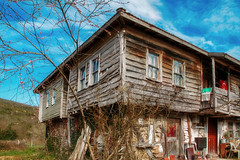 old wooden house (s_gulfidan) Tags: old wooden house