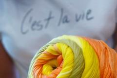 Life is...❤ (sifis) Tags: sakalak yarn knitting knit athens greece art hobby cotton shop store top πλέξιμο πλεκω μαλλιάσακαλάκ