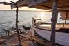 Varadero de Es Ca Marí (alvarogf18) Tags: barca varadero formentera sunset llaüt timón mar costa sea mediterráneo coast mediterranean baleares