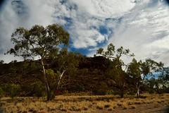 Day 3, hill beside Finke Gorge, near lunch break