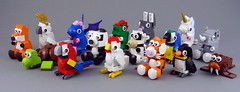 Cuddly Toys Collection (Swan Dutchman) Tags: lego toy cuddlytoy stuffedtoy plushtoy plushies snuggies stuffies snuggledanimals stuffedanimals softtoys knuffel knuffelbeest knuffeldier