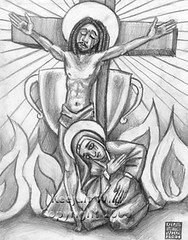 The Chalice by Keejun Sunstone Wild (Keejun Wild) Tags: keejun sunstone wild jesus black blackjesus cross religious christian dreadlocks dreads ethiopia ethiopan chalice mary pregnant mother heaven suffer sins crucifix crucified fire bible biblical sign