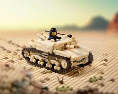 Semovente Da 75/18 SPG (Yitzy Kasowitz) Tags: semovente italy italian tank lego ww2 desert axis brickmania minifigure military spg wot