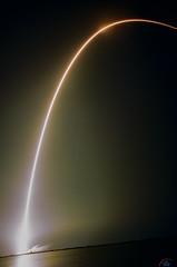 SES12 by SpaceX on 35mm film (Ektar 100) (Michael Seeley) Tags: ektar ektar100 elonmusk falcon9 kodak launch rocket rocketlaunch ses12 slc40 satellite spacex wereportspace