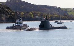 NRP Arpao 20th April 2018 #9 (JDurston2009) Tags: dieselelectricattacksubmarine portugesenavy s161 ssk tridenteclass u209pn attacksubmarine devon hamoaze mountwise plymouth submarine warship armadaportuguesa nrparpao