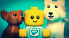 Small family portrait :D (black.zack00) Tags: baby lego minifig dog photography afol toy funny portrait family
