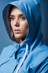 Kris (MihailDolghintev) Tags: studio shadows portrait makeup blue model mood hood nikon d5200 85mm