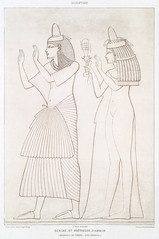Scribe and priestess of Amon from Histoire de l'art égyptien (1878) by Émile Prisse d'Avennes (1807-1879). Digitally enhanced by rawpixel. (Free Public Domain Illustrations by rawpixel) Tags: egyptian otherkeywords amon anillustrationoftheegyptian ancient ancientegyptian ancientegyptianart antique archaeological archeology architecture art carving cc0 design designing drawing dynasty egypt egyptiankingdom egyptianstructures egyptien egyptology empire gods handdrawn hieraticscripts hieroglyphic histoiredelartã©gyptien historical history illustration mythology newkingdom old outlines outlinesfromtheantique pattern pharao priestess psd publicdomain romans scribe sepia sketch story symbol tomb traditional vintage worship ãmileprissedavennes histoiredelartégyptien émileprissedavennes