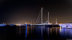 Serenity Part II (Constantinos_A) Tags: photography ship still time long a6300 alpha sony sky sea night water bay boat