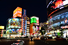 (Vitor Nisida) Tags: japao japan japon nihon japão tokyo toquio tōkyø urbana urban cidade city cityscape urbanphotography streetphotography night noturna noite nightphotography nightslights citylights shinjuku skyline neonlights