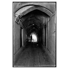 Corridor (falahatgar_j) Tags: nikon nikonphotography iran black white bw bnwphotography blackandwhite people urbanphotography deadpanphotography