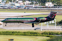 N888XY (Hector A Rivera Valentin) Tags: tjsj sju puerto rico sexy jet llc gulfstream aerospace gv serial 509 year 1997 airport