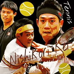 Kei Nishikori Japan  Roland Garros Tennis 2018' Decoration Art  フランスメジャーテニスベスト4迄は、勝ち進ん欲しい錦織圭選手を、編集加工しました。 先週中から風邪をひき、歳を取ると長々治りが悪く、治った様でも今日も体がだるく最悪です。 Youtube ヨリ Open Arms  http://www.google.com/url?q=https://m.youtube.com/ This is me  https://m.youtube.co (nodasanta) Tags: instagramapp square squareformat iphoneography uploaded:by=instagram ludwig