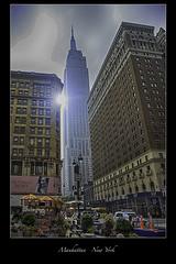 Manhattan - New York City (vonhoheneck) Tags: manhattan broadway timesquare 5thavenue uptown schoelkopf schölkopf canon eos6d usa nyc newyork taxi wolkenkratzer skyscraper