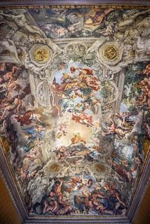 Rome - Rione II Trevi - Quirinale - Palazzo Barberini - Trionfo della Divina Provvidenza (Pietro da Cortona)