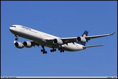 AIRBUS A340 642 Lufthansa D-AIHE 540 Leipzig avril 2018 (paulschaller67) Tags: airbus a340 642 lufthansa daihe 540 leipzig avril 2018