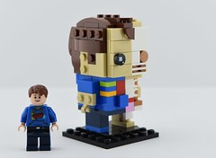 My BrickHeadz Sigfig 2/3 (Alex THELEGOFAN) Tags: lego legography minifigure minifigures minifig minifigurine minifigs minifigurines avatar sigfig brickheadz skeleton anatomy jason freeny skin flesh bones boy moc brickhead