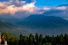 Sunrise over the Himalayas, Pelling, Sikkim (CamelKW) Tags: sikkimindia2018 pellingcity sikkim india in