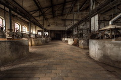 Alle Räder stehen still... (Sven Gérard (lichtkunstfoto.de)) Tags: abandoned decay derelict urbex urbanexploration lostplace industrial