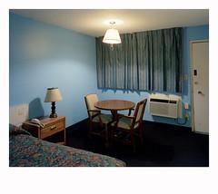 Hotel room Cedar city, UT. (Komkrit.) Tags: komkrit thusanapanont dontdesertme 2007present large format