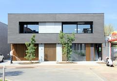 DSC_5837 Moderne Architektur / Wohnhaus in Roermond. (stadt + land) Tags: moderne architektur wohnhaus niederlande roermond hansestadt hanse neuehanse fluss maas rur grenze deutschland einkauf outlet grenzstadt