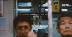 Tokyo  Metro (Yotta1000) Tags: street refraction train gh1 tokyo