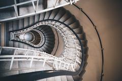 Stairwell (dogslobber) Tags: green prague czech republic europe urban city life travel adventure explore wander wanderlust architecture