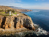 Point Vicente Lighthouse Aerial (meeyak) Tags: rpv pointvicentelighthouse lighthouse pv palos verdes la losangeles aerial drone flying sky clouds landscape seascape djimavicpro ocean beach cliffs mikemarshall spring landmark adventure travel vacation outdoors