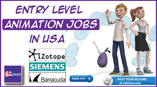 Entry Level Animation Jobs in USA