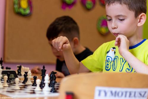 VIII Turniej Szachowy o Mistrzostwo Przedszkola Europejska Akademia Dziecka-33