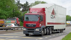 DE14 ZZD (Martin's Online Photography) Tags: man tgs truck wagon lorry vehicle freight haulage commercial transport a580 leigh lancashire nikon nikond7200