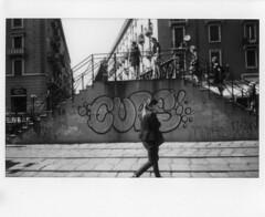 Milano (Valt3r Rav3ra - DEVOted!) Tags: fuji fujiinstaxwide300 bw biancoenero blackandwhite instantfilm instantcamera instax analogico analogica analogue analog streetphotography street milano film valt3r valterravera visioniurbane urbanvisions
