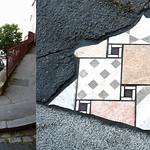 Pavement installation by Ememem [Lyon, France] thumbnail