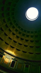 Pantheon roof, Rome (S.R.Murphy) Tags: pantheon rome architecture classicalarchitecture sunbeams sunrays italy samsunggalaxys6 snapspeed inexplore flickrexplore30052018