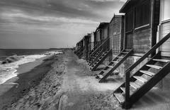 Beach huts (Westhamwolf) Tags: beach huts walton naze essex england coast seaside sand sea