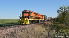 Fortunate Find (GRNDMND) Tags: trains railroads rapidcitypierreandeastern rcpe locomotive emd sd402 fallrivercounty southdakota