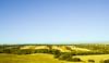 Spanish fields (Marian Pollock) Tags: spain europe fields farms trees hedges sky landscape vista outdoor geometric bushes colourful